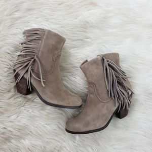 Sam Edelman taupe Louie ankle booties size 5M